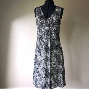 Kenneth Cole Black and white dress, Mesh fabric